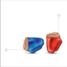 小型耳あな型補聴器