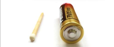 耳の穴の大きさはマッチ棒サイズから単三電池が入る方まで!
