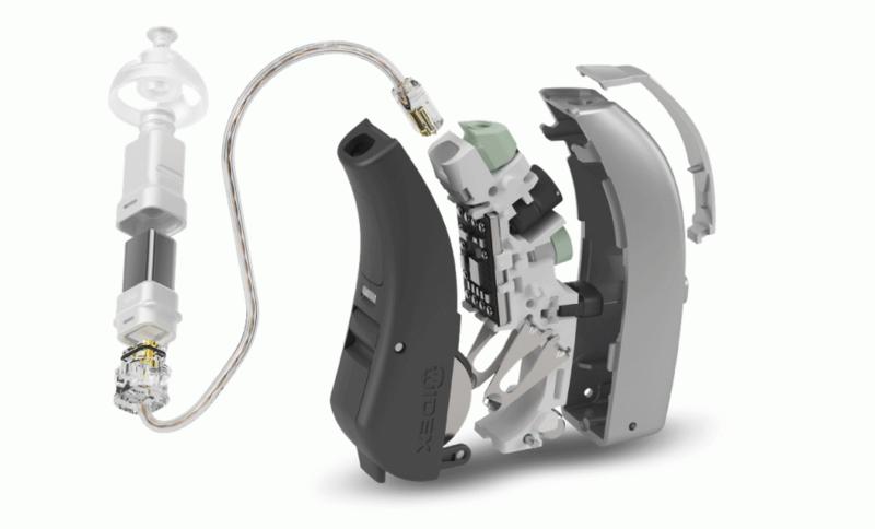 補聴器の中にはコンピュータが入っています