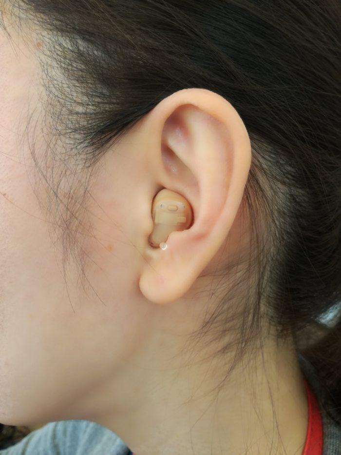 耳穴装用時