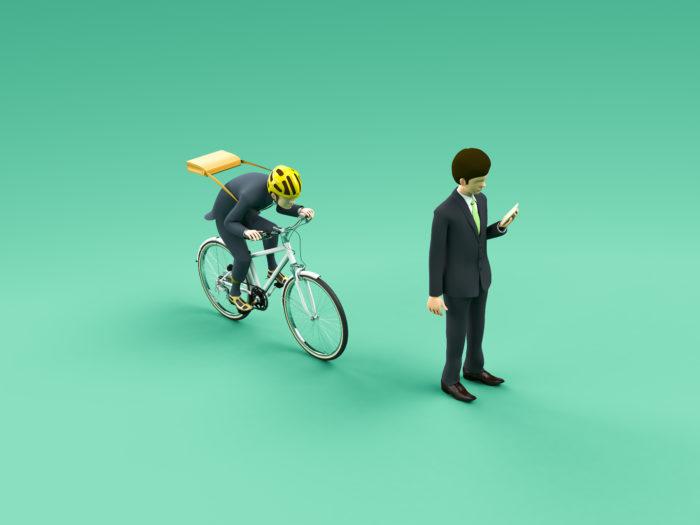 道路を歩いているとき、右後ろから自転車が近づいてきてベルを鳴らした場合、左後ろからベルの音が聞こえてきたと思うので右によけてしまい、ぶつかってしまう可能性があります。
