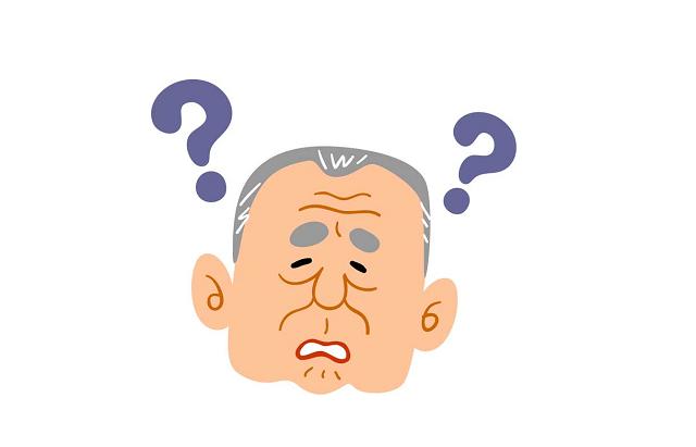 認知能力が低下した高齢者