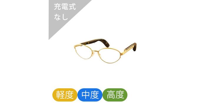 メガネ型骨伝導補聴器