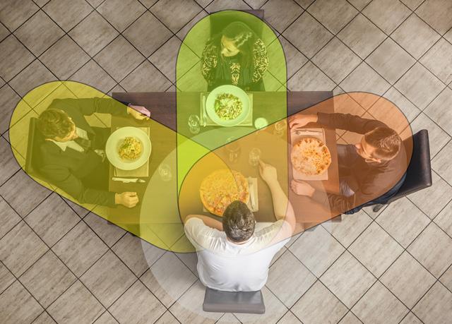 「全方向(360°)の会話」