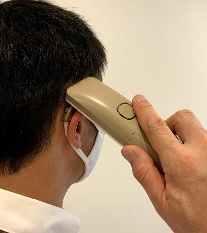 従来の耳かけ型の場合